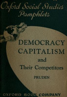 Democracy, capitalism, and their competitors By  Durward Pruden, Free PDF book