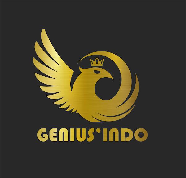 Desain Gratisan Logo Genius Indo