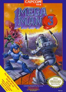 Capa do jogo Mega Man 3 para Nes