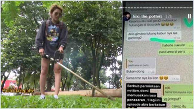 Dituding Berhubungan dengan Tukang Kebun, Nikita Mirzani Bilang Begini