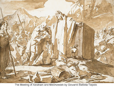The Meeting of Abraham and Melchizedek by Giovanni Battista Tiepolo