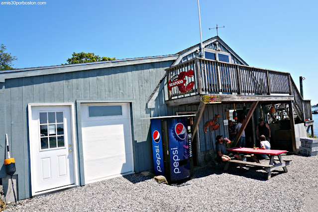 Erica's Seafood & Lobster Shop en Harpswell, Maine