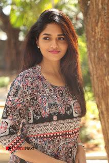 Actress Sunaina Latest Stills in Floral Dress at Pelliki Mundu Prema Katha Trailer Launch  0018.JPG