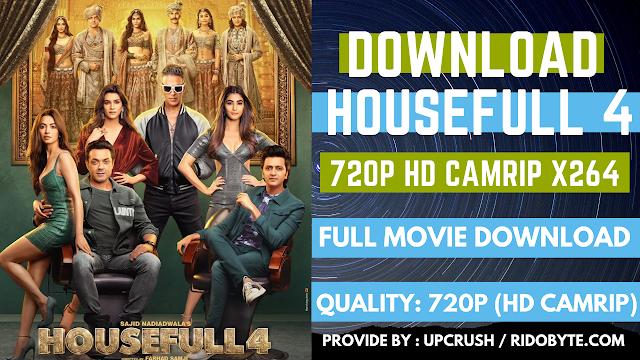 Housefull 4 (2019) | Hindi 720p 480p HD CamRip | Full Movie