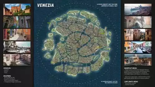 pubg mobile new venezia map