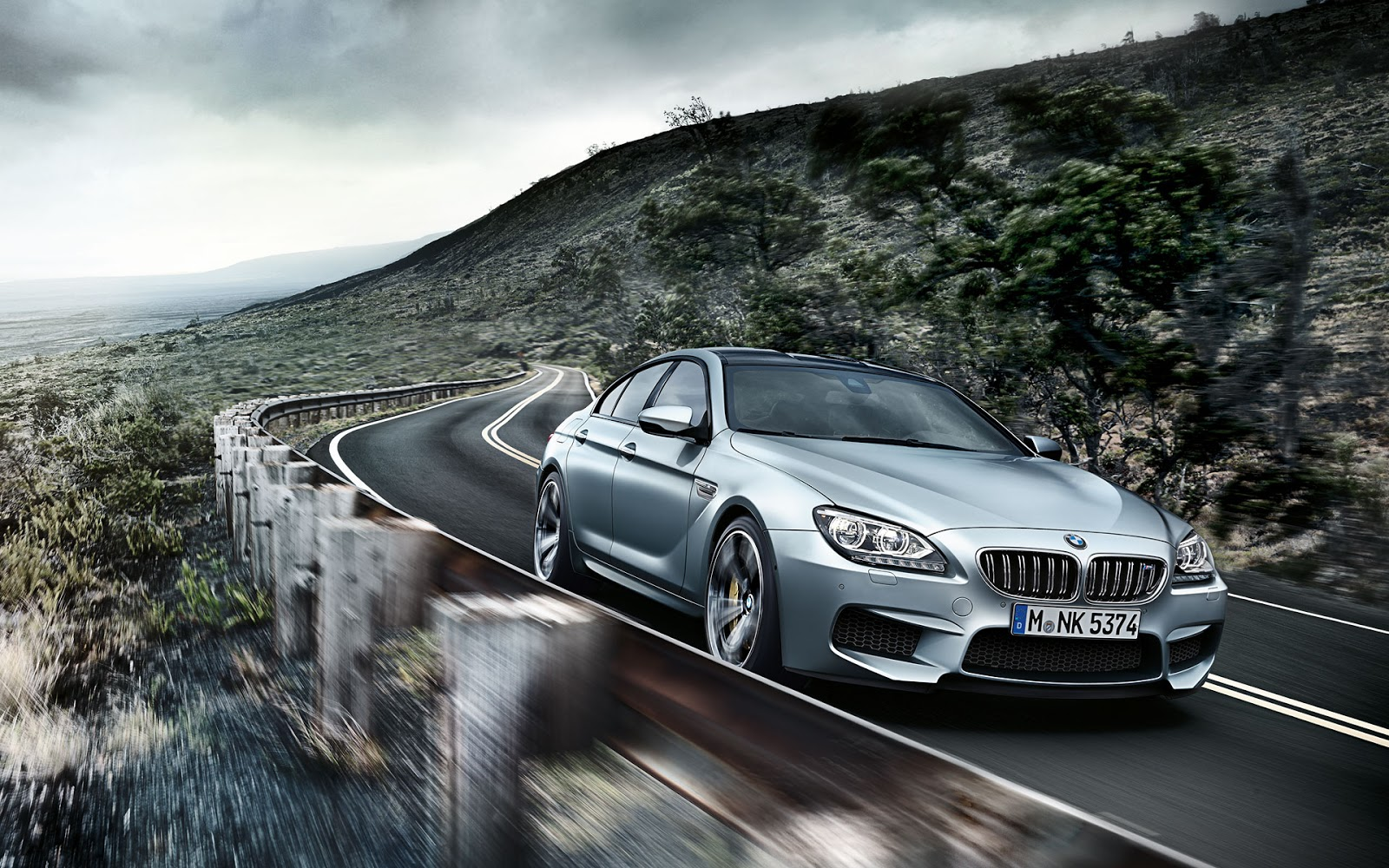 Epic Car Wallpapers: Epic 2014 BMW M6 Gran Coupe Wallpapers (Gallery)