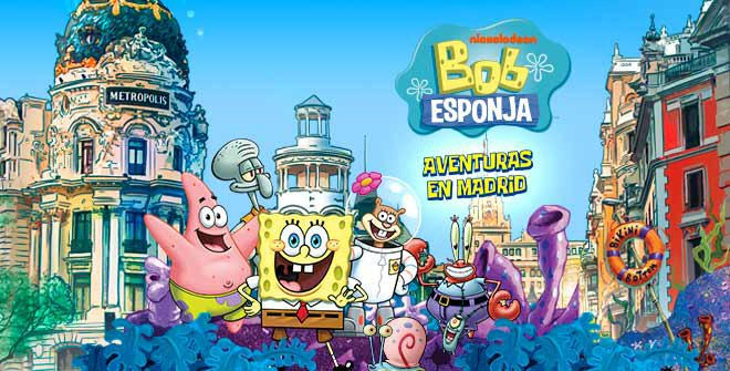 Madrid Tourists Around Guide Squarepants NickaliveSpongebob To In b6gYf7y