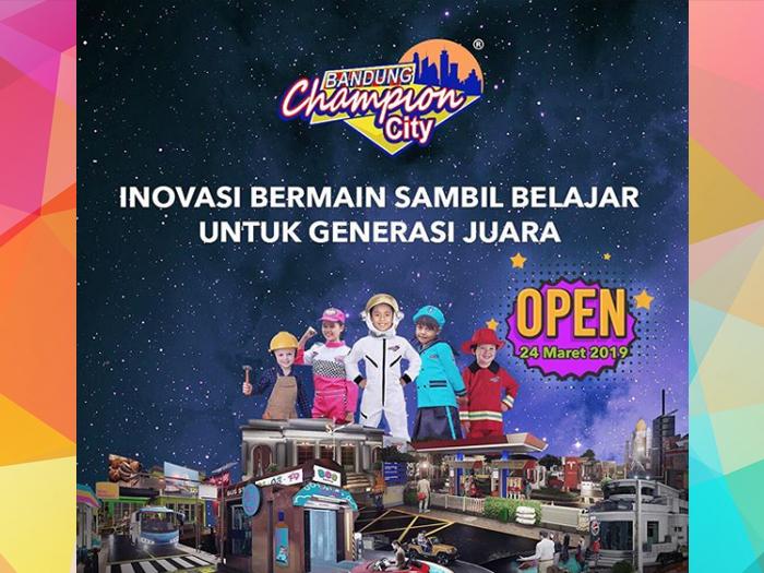 Bandung Champion City Wisata Edukasi Terbaru Di Lucky Square Mall