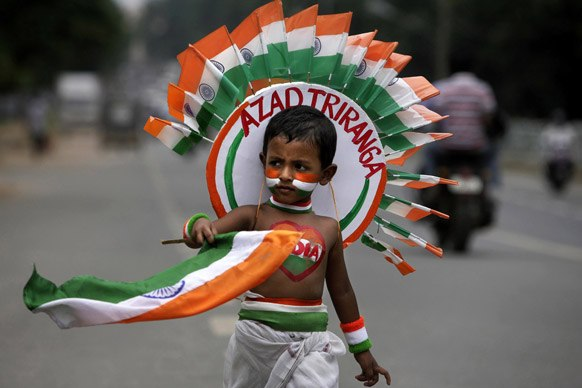 independence afternoon indian through hindi article with corruption