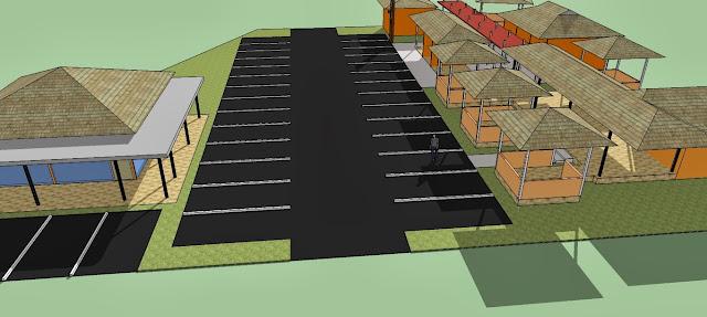 Site Plan Parkir