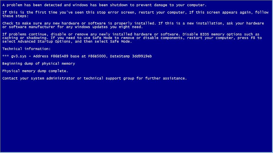 como crear una falsa pantalla azul de la muerte