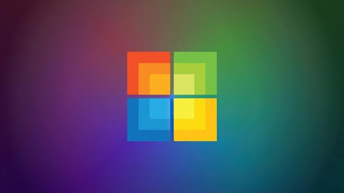 Plano de Fundo Colorido Windows