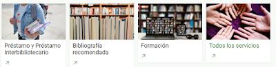 Servicios de la Biblioteca de Derecho UAM