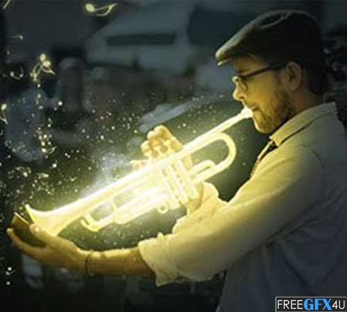 Awesome Glow Effect in Photoshop