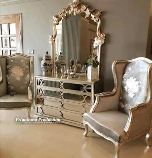 Console Kaca Cermin Mewah