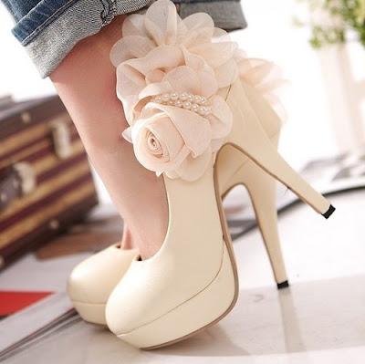 Zapatos blancos de temporada