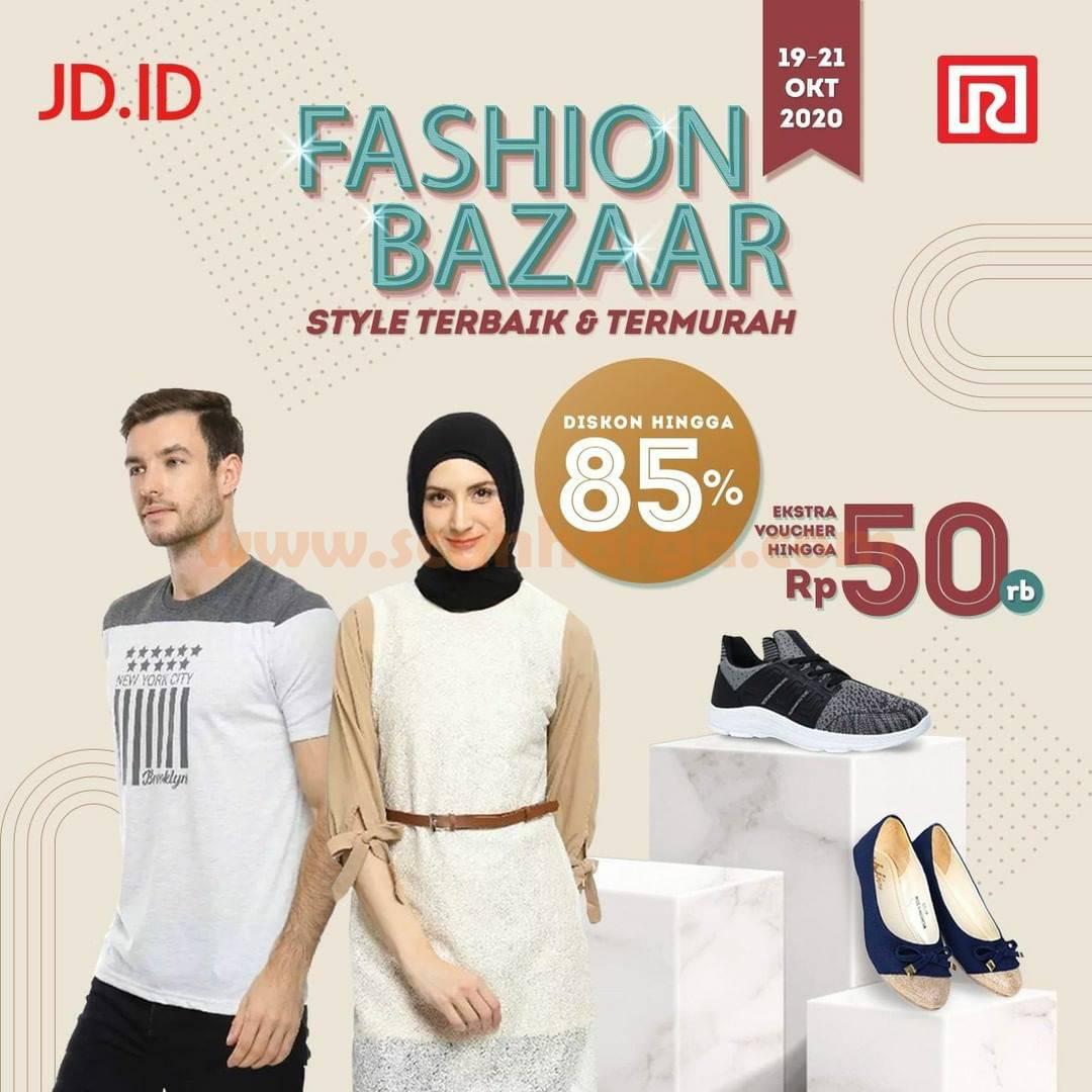 JD.ID /Ramayana Promo Fashion Bazaar Diskon 85% + Ekstra Voucher hingga Rp 50.000*