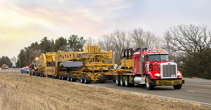 Oversize load rates