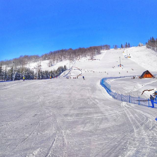 stok narciarski w Zakopanym, Harenda, jak wygląda stok zimą