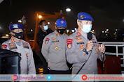 Korpolairud Baharkam Polri Kerahkan 9 Kapal dan 4 Heli Cari Pesawat Sriwijaya Air yang Jatuh