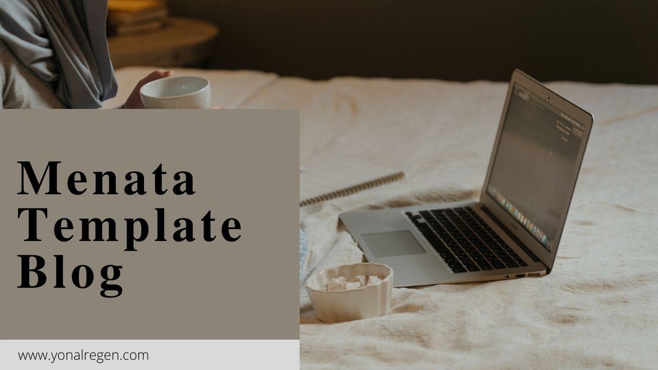 Belajar menata template blog