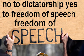 yes to freedom of speech no to dictatorial censorship