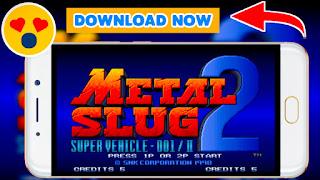 Metal Slug 2 game