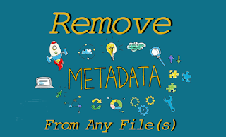 remove metadata from files on Kali Linux