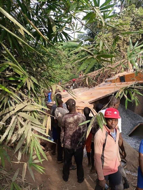Tragedies Hit As Bridge Collapses In Enugu (PHOTOS)