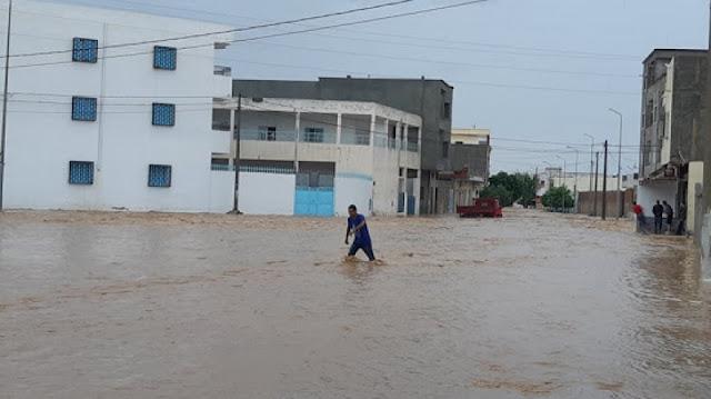 المهدية : إقرار إنجاز دراسة لحماية بومرداس من الفيضانات