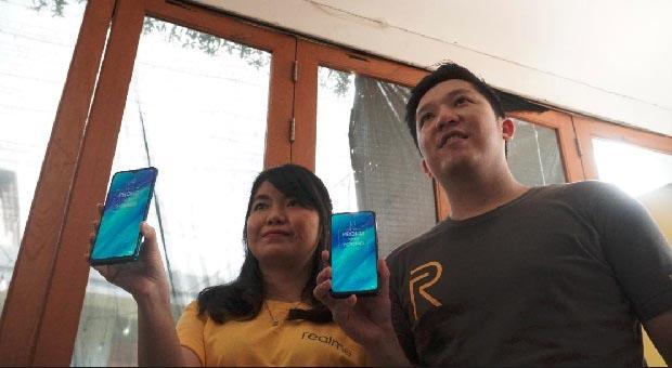 "Realme 3 ""Power your Style"" Hadir di Kota Bandung"