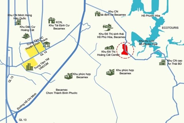 Tiện ích dự án khu đô thị Hoàng Cát Center