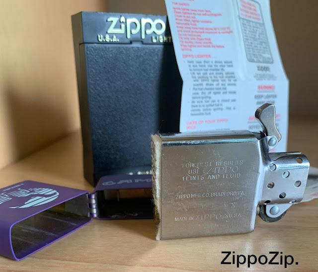 Zippo Camel Purple 1994 Insert