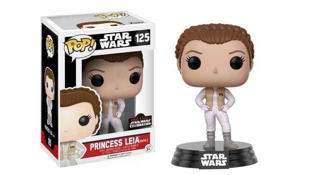 Bonecos Pop Funko Star Wars Celebration 2017 Leia