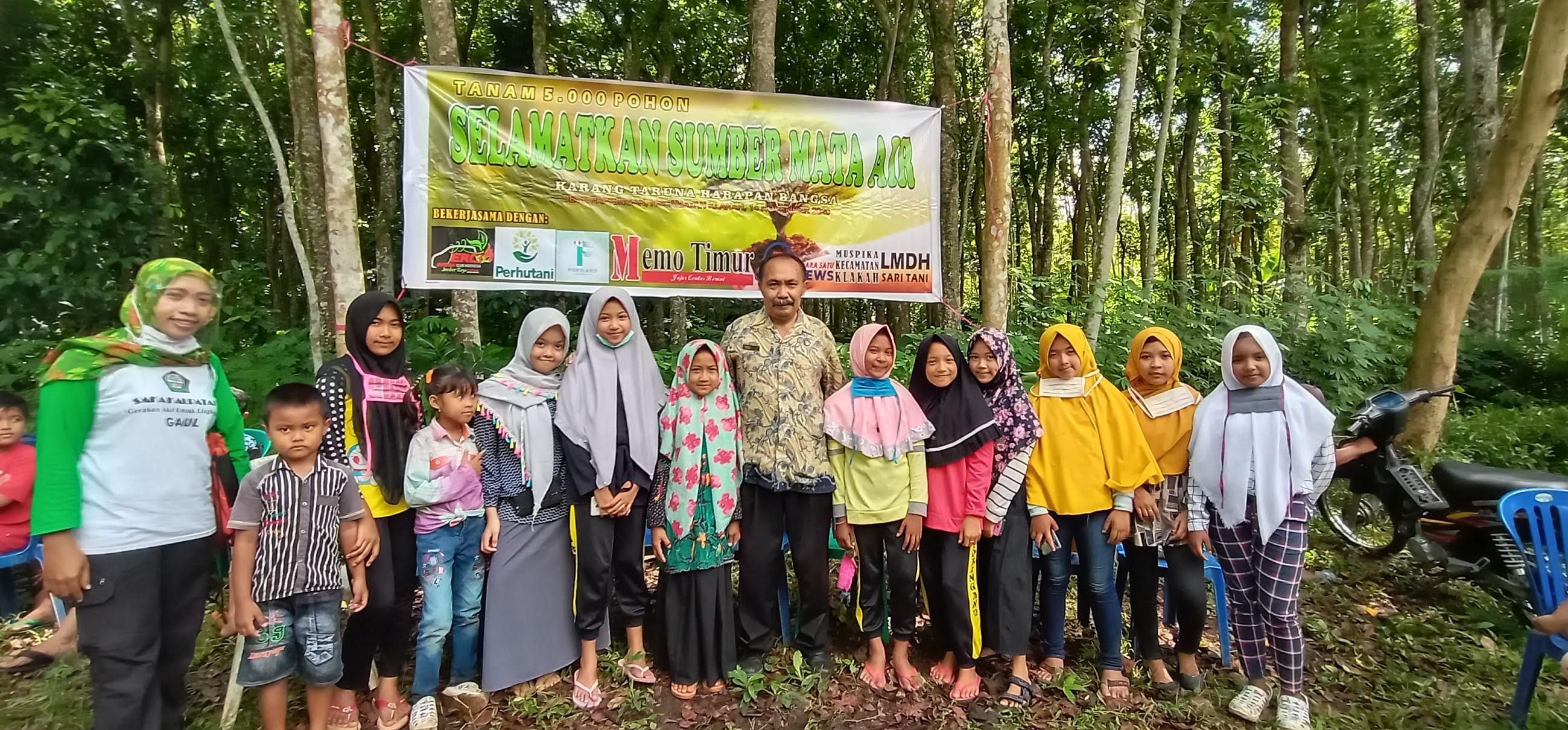Belajar Cinta Lingkungan, Siswa SDN 01 Papringan Diajak Tanam Pohon