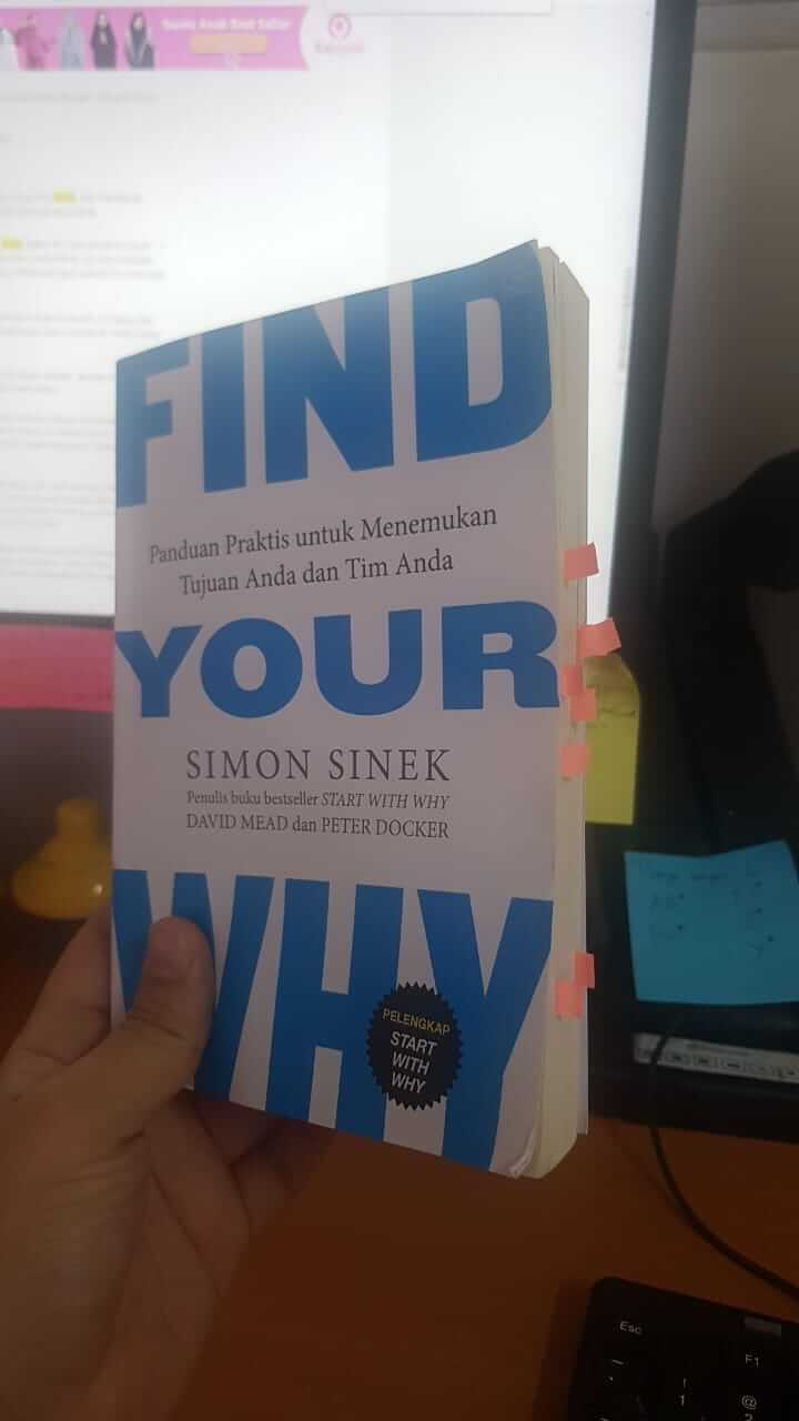 Buku Find Your Why - Simon Sinek