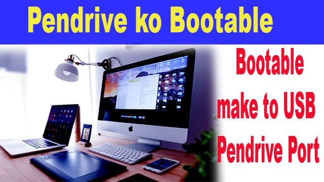 Pendrive Bootable Install Windows new