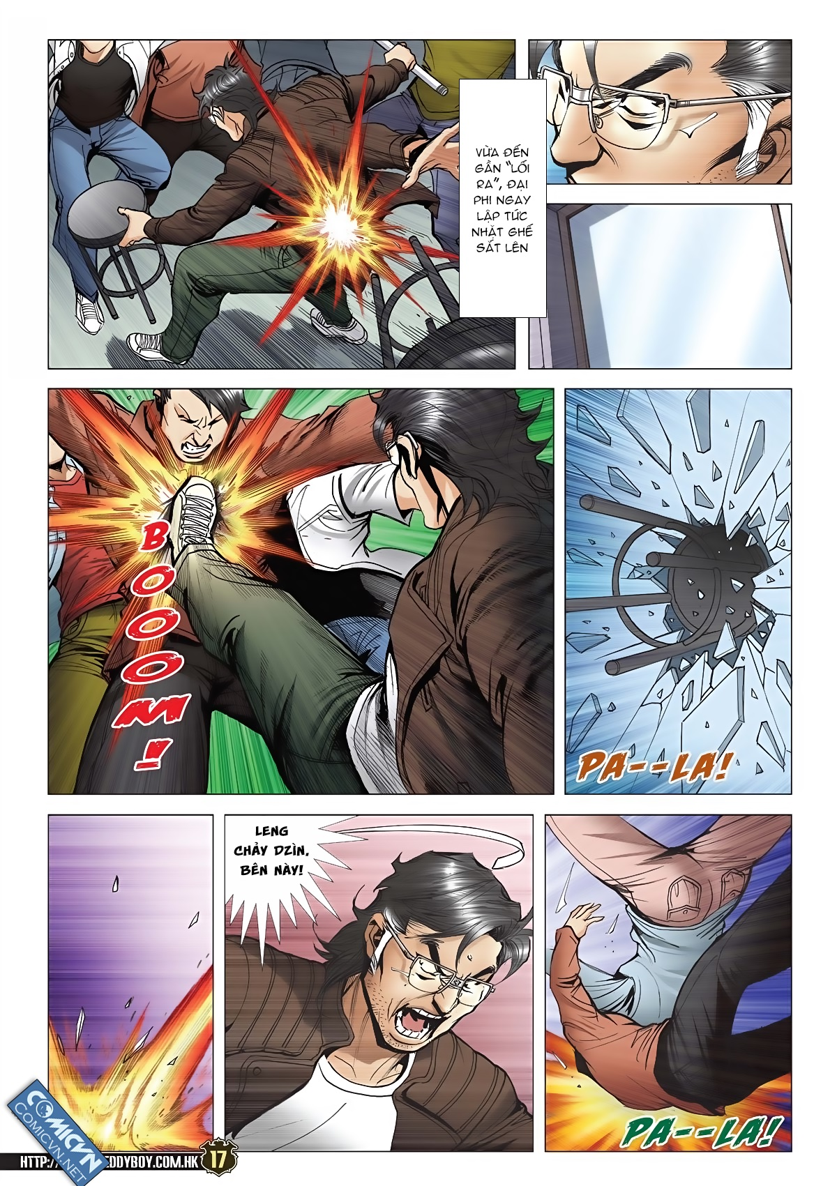 Người Trong Giang Hồ chapter 2091: trần hạo nam và lý thành khắc trang 16