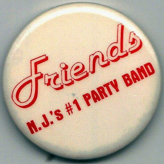 The Friends Band button