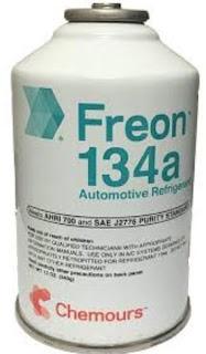 bagian zat pendingin freon pada kulkas