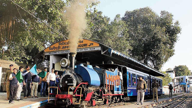 Darjeeling Himalayan Railway introduced evening ride
