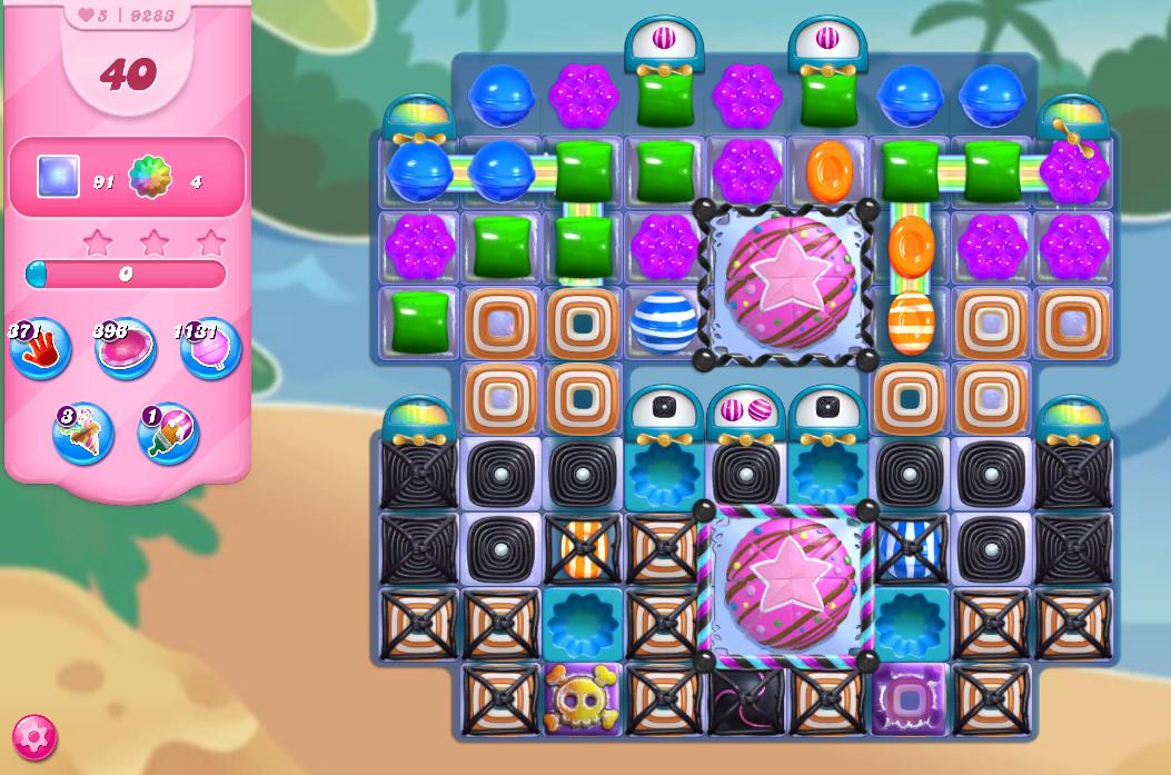 Candy Crush Saga level 9283