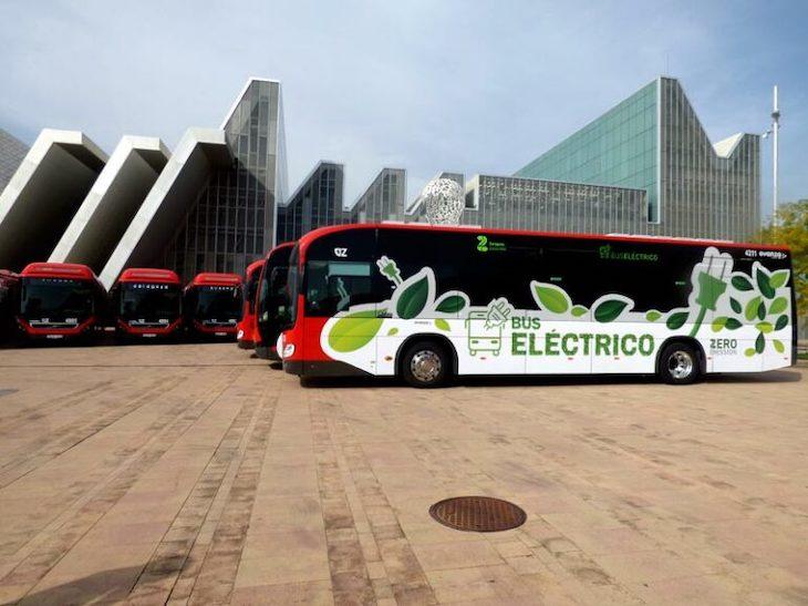 Mobility ADO inicia pruebas de un autobús 100% eléctrico en Zaragoza, España