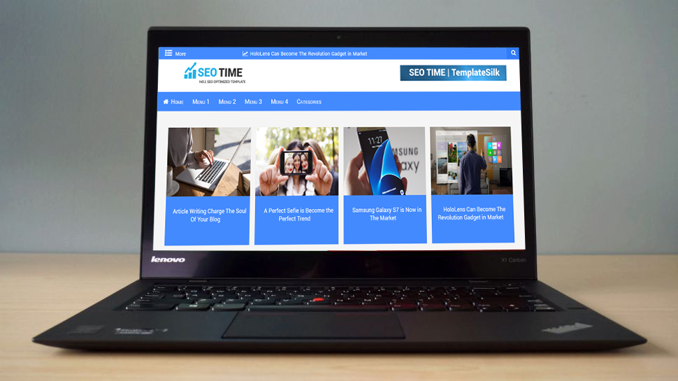 SEO TIME Blogger Theme