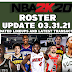 NBA 2K20 Roster Update 03.31.21 Latest Transactions (No Injuries) by 2kspecialist