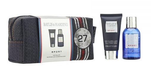 0da17738e1 The men in the family don t need to feel like they re missing out either -  the Baylis   Harding Mens Sport Citrus Lime   Mint Small Wash Bag Set is  the ...