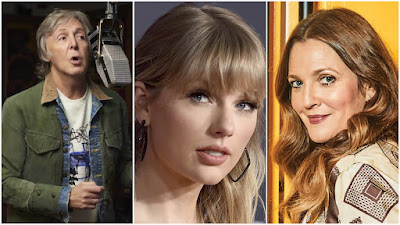 Christina Aguilera, Taylor Swift, JHud, Paul McCartney, Are The First List Of Artists  Set To Perform At Rock & Roll Hall of Fame Induction Ceremony Airing Nov. 20 Via HBO!