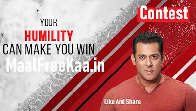 Salman Khan Contest