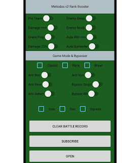 ML Rank Booster V7 Patch Yu Zhong Auto WinStreak Mobile Legends Terbaru