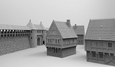 Townwall and gate picture 2